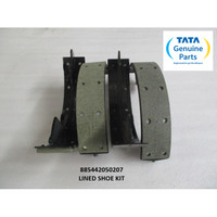 TATA MOTORS XENON RX LINED SHOE KIT 885442050207
