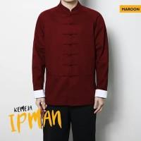 KEM IPMAN MARUN [Pakaian Pria 0150] SA8 Baju Kemeja Katun