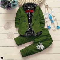STELAN ROMPI KEMEJA BABYTERY [Baju Anak 0126] SEB