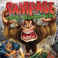 Game Kaset Nintendo Wii Rampage Total Destruction