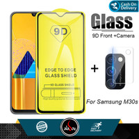 Paket Tempered Glass Layar dan Tempered Glass Camera Samsung M30S
