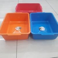 Baskom Kotak Plastik / Bak Kotak Merek Lionstar