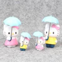 Action Figure Mainan Anak Hello Helo Kitty Kity HK Topper Kue Tart