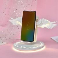 Charger Wireless Sayap Malaikat / Angel Wings Wireless LED