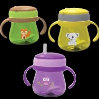 BABYSAFE Training Cup With Straw 250ml JP019