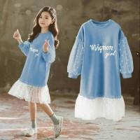 MIGNON GIRL BLUE [Baju Anak 0107] SHU