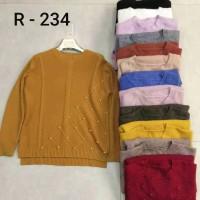 Atasan Rajutan R - 234 / Import