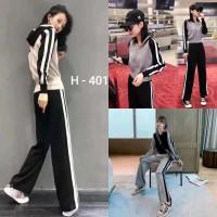 Setelan Kaos H - 401 / Celana / Import