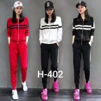Setelan Kaos H - 402 / Celana / Import