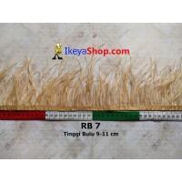 Bulu Single Ostrich Pendek 7 (RB 7)