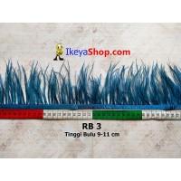 Bulu Single Ostrich Pendek 3 (RB 3)
