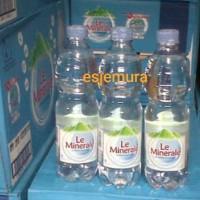 Le Minerale 600 ml perdus 24 botol
