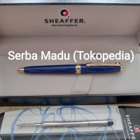 Paket 1 Klik: Sheaffer Mini Prelude Glossy Blue CT Ballpoint + Refill