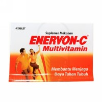 ENERVON C STRIP 4 TABLET