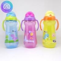 Botol Minum Sedotan Dodo Sport Handle Cup Big 350ml BPA Free