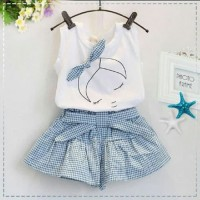 Stelan Sleep Lady blue [Baju Anak 0147] SEJ