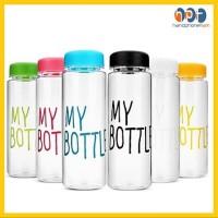 PROMO My Bottle Transparan Infused Water Botol Minum Bahan Plastik Tri