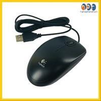 PROMO Mouse Logitech B100 USB Optical Mouse Kabel Berkualitas