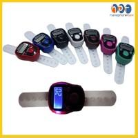 PROMO Tasbih Digital Mini Ada Lampu Finger Counter Penghitung Jari Tas