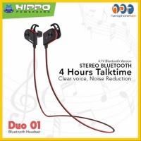 PROMO Handsfree SPORT DUO-01 Headset Earphone Bluetooth DUO 01 Super B