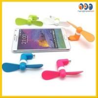 PROMO Kipas Angin Mini Usb Otg For Iphone 5.6 Mini Fan Langsung Ke HP