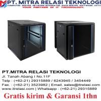 """INDORACK - WIR4508S Wallmount Single Door 19"""""""