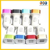 PROMO Adaptor Charger Mobil 2in1 Car Charger Saver 2 Output 2A Murah B