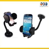 PROMO Car Holder Mobil Universal Leher Angsa Panjang Gantungan HP Flex