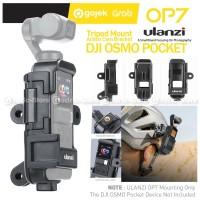 ULANZI OP-7 Extended Case DJI OSMO POCKET Tripod Mount Vlog Casing