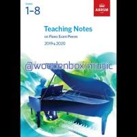 Teaching Notes on Piano Exam Pieces Grades 1-8 Buku ABRSM