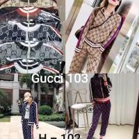 Setelan Rajutan Gucci - 103 / Import / Premium