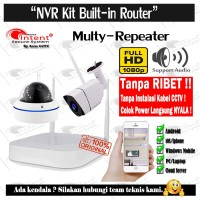 Audio Series Multi-Repeater 1080P INTENT Wifi NVR Kit 1x In 1x Out - Non HDD
