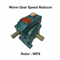 Gear Box Speed Reducer Rotor WPS 40 Ratio 10, 15, 20, 30, 40, 50, 60