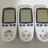 Power Meter Alat Penghitung Daya Kilowatt Watt Ampere Volt Listrik