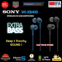 Sony WI XB400 / WI XB 400 EXTRA BASS Wireless In-Ear Earphones