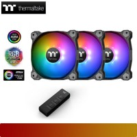 Thermaltake - Pure 14 ARGB Sync Radiator Fan (3-Fan Pack)