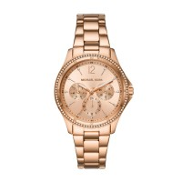 Michael Kors Riley Chronograph Rose Gold Stainless Steel Watch MK6656