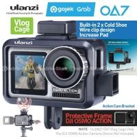 ULANZI OA-7 Vlog Case DJI OSMO ACTION Camera Vlogging Casing Frame
