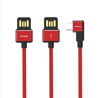 Kabel data vivan BWM 100 micro usb cable gaming fast charging 2.4A and