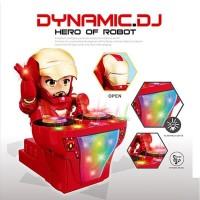 Robot dynamic dj music dance iron man robot ironman musik avenger