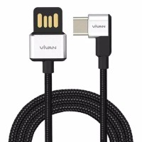 Kabel data vivan BWC100 tipe c cable gaming fast charging type c 1m 3a