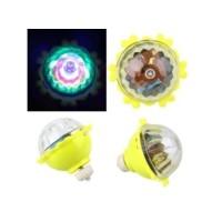Gasing lampu fidget spinner gasing LED putar penghilang stres
