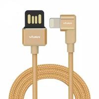 Kabel data vivan BWL100 iphone cable fast charging gaming 1m 2.4a ori