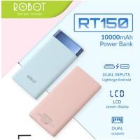 Powerbank Robot RT150 10000 mAh power bank lcd 2 usb port original