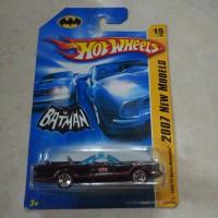 Hotwheels batman batmobile tv series 1966