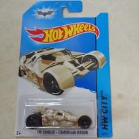 hotwheels batmobile the tumbler camo