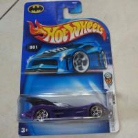 Hotwheels batman batmobile RARE 2003