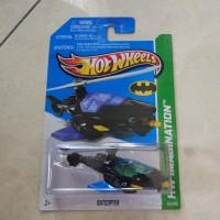 Hotwheels batmobile batcopter