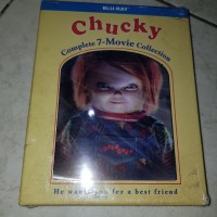 Chucky 7 movie collection bluray