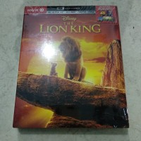 BNIB The Lion King 4k Blu-ray Target edition